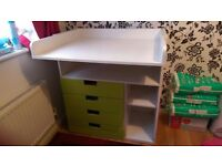 Ikea changing table / desk