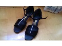Latin Ballroom Dance Shoes UK4 - almost new