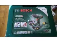 Bosch PSB1800 LI-2 CORDLESS COMBI DRILL WITH 2 x 2.0 batteries