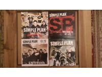 Simple Plan 'Shut Up' 'Welcome To My Life' 'Untitled' & 'Crazy' 7 inch Vinyl Singles