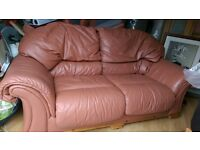leather sofas - 3+2 seater