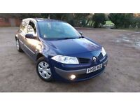 Renault Megane 1.5 Dci, Diesel, Manual 6 speed, MOT till Jan 2017, £30 road tax, New brake pads