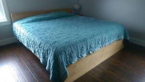 IKEA king bed frame
