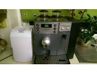 CAFE SWISS cS100 Bean to cup COMMERCIAL COFFEE MACHINE WITH FRIDGE
