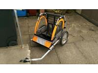 Double Bicycle Trailer, hardly used, good for kids or shopping