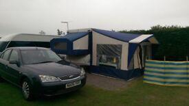 Trailer tent/hard top camper