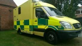 Mercedes sprinter 515 CDI 2009 ambulance direct ambulance service NO VAT