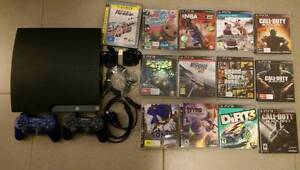 PlayStation 3 with 13 games and 2 controllers Karratha Roebourne Area Preview