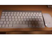 Apple Magic Mouse & Apple Wireless Keyboard
