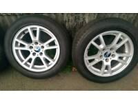 "BMW x3 17"" alloy wheels 5x120"