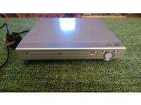 Silver DVD Player