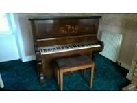 Ingleton piano & stool