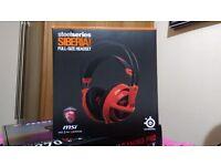SteelSeries Siberia V2 Full-size Headset - MSI Dragon Edition (RED)