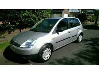 Ford fiesta 1.4 diesel low miles 30 pound tax a year