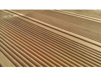High Quality Swedish Fine Ribbed Decking To Cover 3.6m x3m