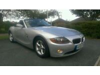 2005 05 REG BMW Z4 ROADSTER 2.2i SE CONVERTIBLE, HPI CLEAR, FULL MOT, RECENT SERVICE, AMAZING DRIVE