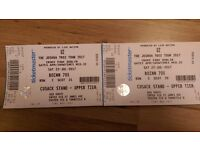 U2 Tickets(2 beside each other) Dublin Croke Park 22 July