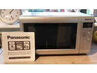Panasonic 900 watt, Inverter Microwave, Great Condition + Instructions Supplied