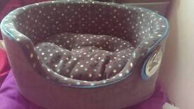 Small Dog Bed/Pillow. Never been used