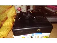 xbox 360 slim with games for sale