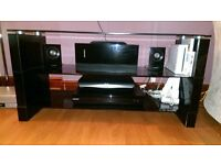 Black gloss TV stand for sale £10