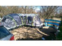 Argo Nimbus 8 + porch, inflatable air tent
