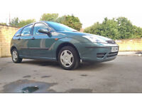 RARE 2003 FORD FOCUS 1.4 LX, BRAND NEW MOT, FULL HISTORY, TIDY COND.