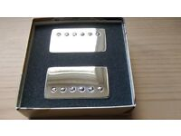 As New Bare Knuckle Stormy Monday Humbuckers Alnico 2 II Nickel Unpotted Braided Long Leg 50mm