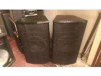 JBL M350 speakers