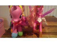 Twillight Sparkle and Princess Cadence pony set