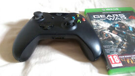 Xbox one Controller + Gears of War 4 both *like new*
