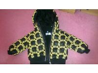 GENUINE Versace Coat Age 3-6 Months