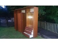 Wardrobes and vanity unit see pictures