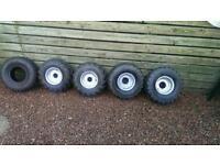 5 Quad tires
