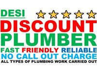 Discount Plumber - TAP REPAIR ETC - No call out charge - Affordable prices -