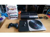 Sony PS3 console with games