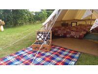 bell tent hire in Essex, Suffolk and Norfolk from only £145