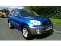 2003 TOYOTA RAV4 2.0 GX 5 DOOR * LONG MOT JANUARY 2018 *