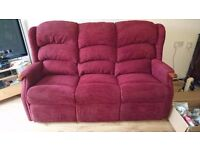 HSL 3 seater sofa. Hardly used, in really good condition