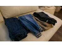 4 pairs boy jeans