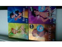 4 brand new Disney dvds