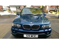 BMW X5 4.4 SPORT AUTO TIP 2001, Private Plate LPG GAS CONVERTED