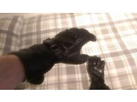 Hein Gericke / Gore-Tex Motorcycle gloves / X-Trafit Technology / Black / Size - XS / FREE DELIVERY