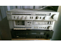 Joblot used amplifiers, receivers, tape decks, tuners AKAI,NAD,Onkyo,Marantz for parts/repair