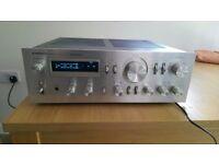 Pioneer SA-8800 Silver Pioneer amplifier for sale in excellent condition