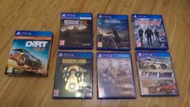7 Playstation 4, PS4 games