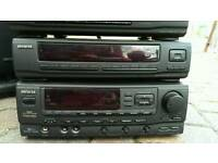 Large Old fashioned CD Cassette Radio Stereo System