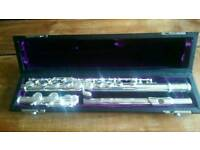 Trevor James 10XE Silver plated flute