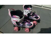 Blindside Quad Skate Pink/Purple Roller Boots