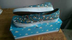 Vans toy story woody shoes uk size 10